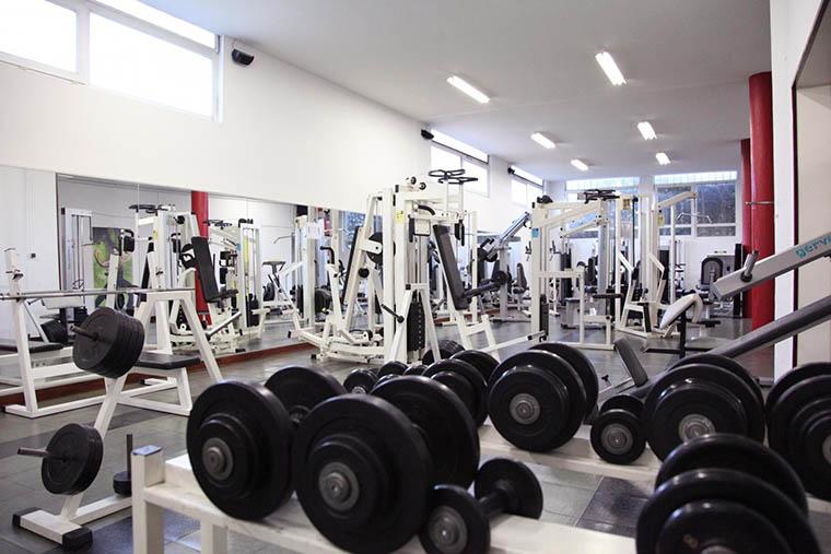 La salle de musculation du Moana